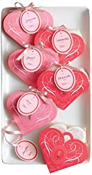 Martha Stewart Crafts Valentines Day Heart Shape Treat Bag