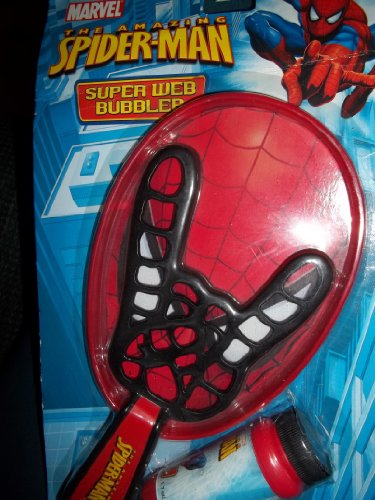 Marvel The Amazing Spiderman Super Web Bubbler - 1