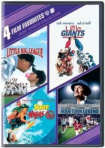 4 Film Favorites: Kids Sports (Hometown Legend, Little Big League, Little Giants, Surf Ninjas)