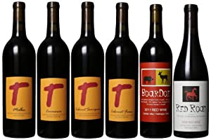 Tagaris Winery Tremendous Reds Mixed Pack, 6 x 750 mL