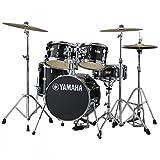 YAMAHA ヤマハ ドラムセット JK6F5RB [マヌ・カチェ・ジュニアキット / レーベン・ブラック] 【BD16・FT13・TT12 & 10・SD12・ダブルタムホルダー】