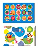 Disney Pooh Table Topper Disposable Stick-in-Place Placemats , 50-Count