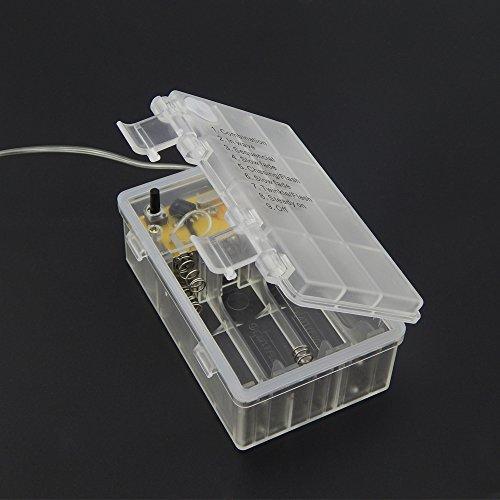 er chen remote battery operated led string lights 20ft 60. Black Bedroom Furniture Sets. Home Design Ideas