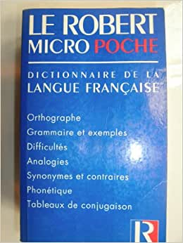 Le robert micro poche dictionnaire d - Dictionnaire de l office de la langue francaise ...