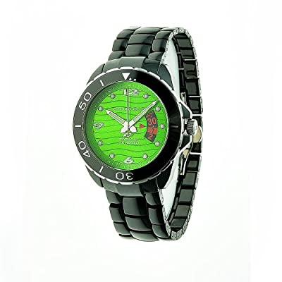 Android Men's AD417AKGR Exotic Divemaster Ceramic Quartz Green Watch
