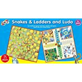 Snakes & Ladders and Ludo Game Setby Galt