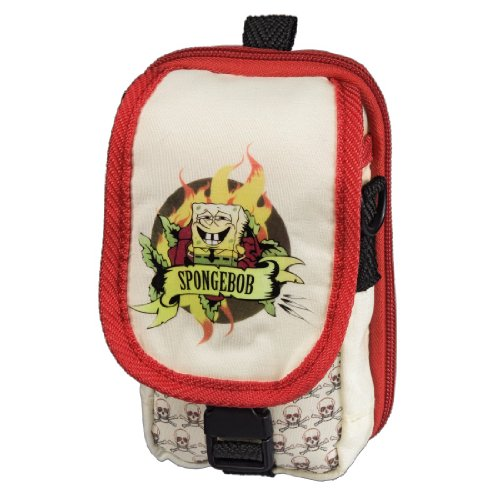 J-Straps Tasche - Spongebob Fire für Nintendo DS Lite / DSi / 3DS, Nintendo DS