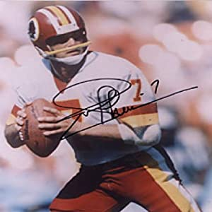 Joe Theismann Autographed Signed 8x10 Washington Redskins Photo by Hollywood Collectibles