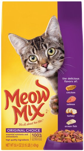 Detail image Meow Mix Original, 3.15-Pound (Pack of 3)