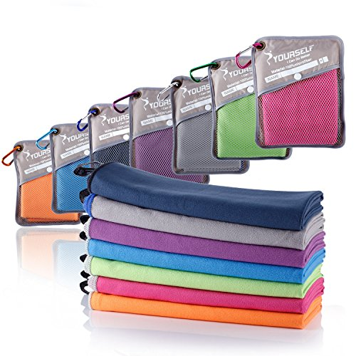SYOURSELF Microfiber Sports & Travel Towel, S: 32