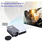 Constructan(TM)Hot Sale 3D Video Projectors GM50 Mini LED TV Projector Home Theater Beamer SD/HDMI/VGA/AV/USB...