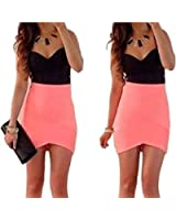 2015 Hot Fahsion Sexy Women Sleeveless V Neck Bodycon Mini Short Dress