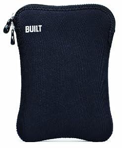 BUILT Neoprene Sleeve for 8-inch e-reader or Tablet, Black