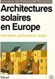echange, troc Collectif - Architectures solaires en Europe