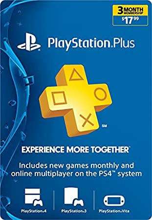 3-Month Playstation Plus Membership  - PS3/ PS4/ PS Vita [Digital Code]