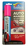 LARGE PINK AUTO MARKER - REMOVABLE PAINT FOR AUTO BODY PANELS AND WINDSCREENS