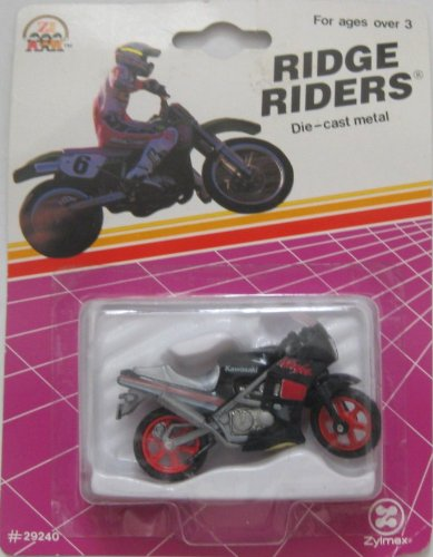 Ridge Riders Kawasaki Ninja Die Cast Metal Motorcycle #29240