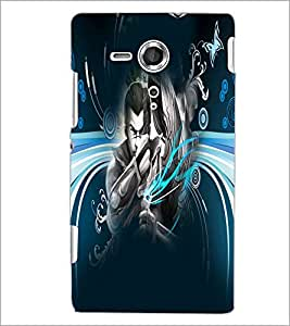 PrintDhaba Abstract Image D-4983 Back Case Cover for SONY XPERIA SP (Multi-Coloured)