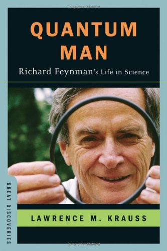 Quantum Man: Richard Feynman&#039;s Life in Science (Great Discoveries) book cover