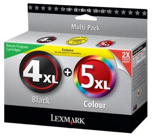 Lexmark #4xl #5xl Inkjet Cartridge - Black Black Friday & Cyber Monday 2014