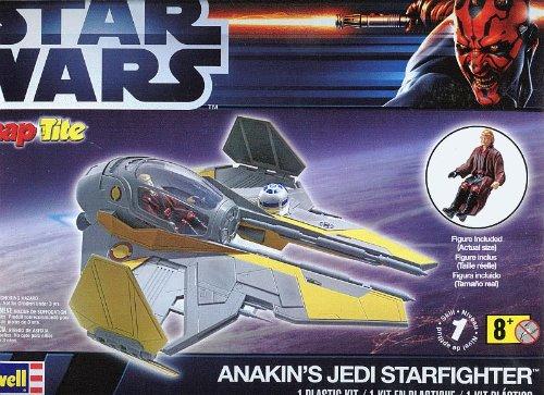 Revell #1877 Star Wars Anakin's Jedi Starfighter Plastic Kit