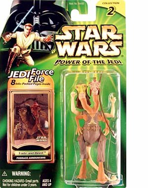 Star Wars Fode and Beed podrace announcers power of the jedi