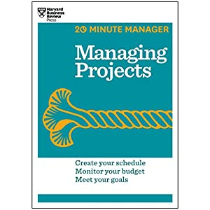 Managing Projects Audiobook by  Harvard Business Review Narrated by James Edward Thomas