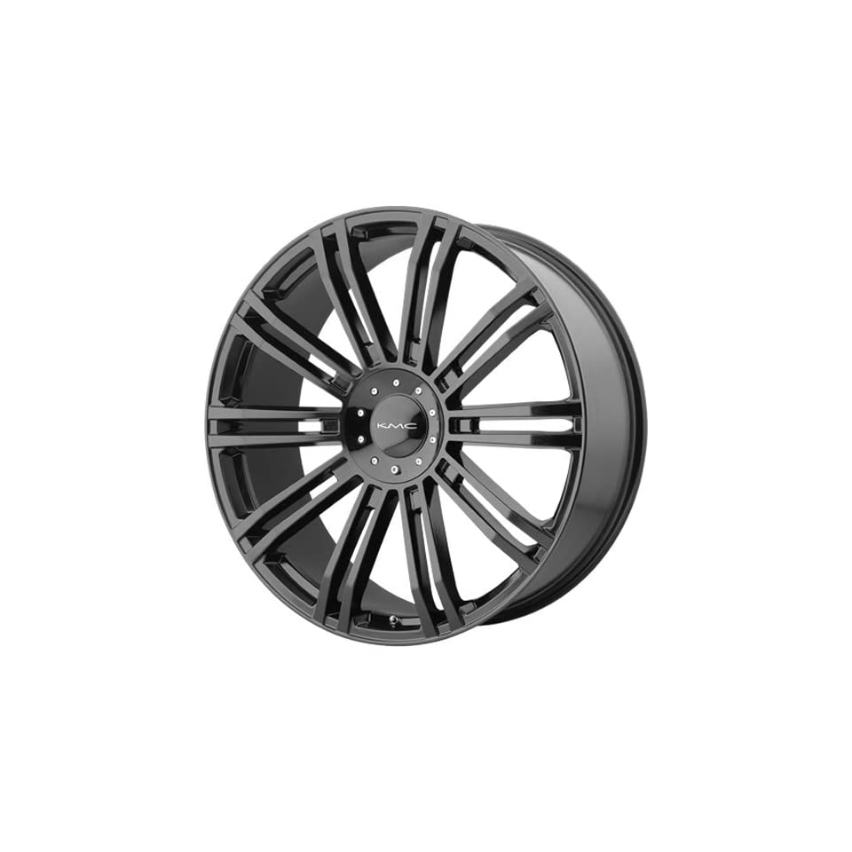 KMC KM677 20x8.5 Black Wheel / Rim 6x135 & 6x5.5 with a 10mm Offset and a 106.25 Hub Bore. Partnumber KM67728567310 Automotive