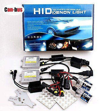 Commoon 12V 55W Hb4 12000K Premium Ac Error-Free Canbus Compatible Ballasts Hid Xenon Kit For Headlights