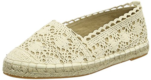 Buffalo327675 COTTON - Espadrillas Donna , Bianco (Weiß (WHITE 09)), 39