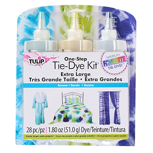 Tulip One-Step Tie Dye Kit, 16-Ounce, Serene, 3-Pack front-396299