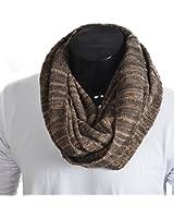 Z&s Chic Men Women Knit Winter Infinity Scarf Oversize E5001b