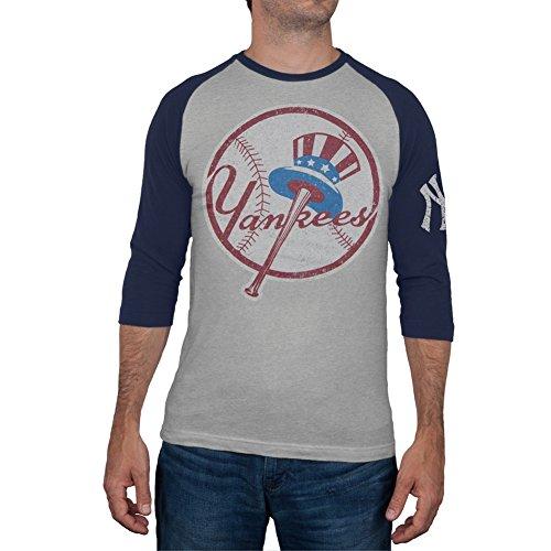 New York Yankees -  T-shirt - Uomo grigio XL