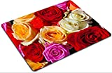 Mousepads Colorful roses bouquet beautiful floral background IMAGE ID 38710090 by Liili Customized Mousepads Stain Resistance Collector Kit Kitchen Table Top Desk Drink Customized Stain Resistance Collector Kit Kitchen Table Top Desk