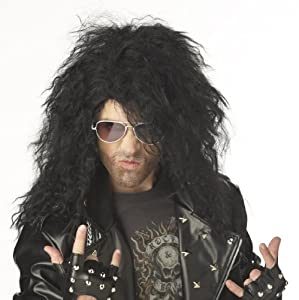 California Costumes Men's Heavy Metal Rocker Wig by California Costumes