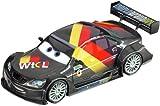 Carrera GO! 20061199 Disney/Pixar Cars 2 - Vehículo diseño Max Schnell [Importado de Alemania]