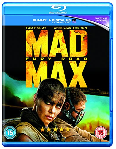 Mad Max: Fury Road [Blu-ray] [2015] [Region Free] UK-Import, Sprache: Englisch.
