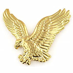 gold eagle lapel pin brooches and pins jewelry. Black Bedroom Furniture Sets. Home Design Ideas