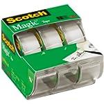 Scotch Magic Tape , 3/4 x 300 Inches,...