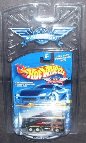 Hot Wheels FINAL RUN 2001 Ramp Truck Diecast