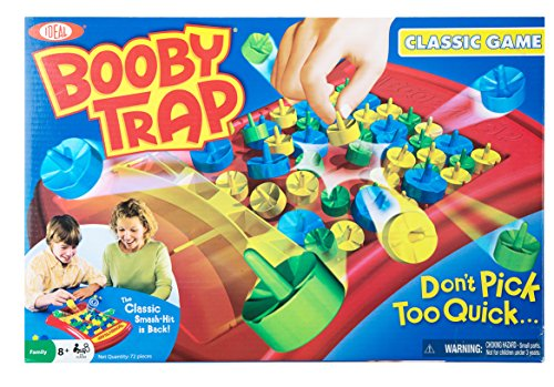 Ideal Booby Trap Classic Spring Action Game - 1
