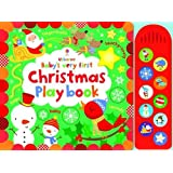 Baby's Very First Touchy-Feely Christmas Play Book (Baby's Very First Books)