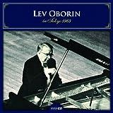 レフ・オボーリン 1963年2月 東京録音 (Lev Oborin in Tokyo 1963)