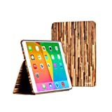 i-UniK American Forest series Apple iPad Air Slim Protection Case with built in Sleep/Awake Function - (Hickory)