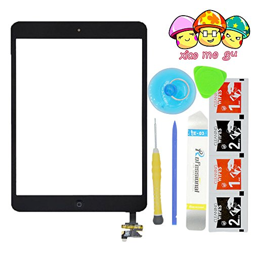 Review XIAOMOGU(TM) iPad Mini& iPad Mini 2nd Touch Screen Digitizer Complete Assembly with IC Ch...