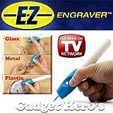 Gadget Hero's Ez Engraver Etching Engraving Pen For All Glass Metal Plastic Wood Engrave It.