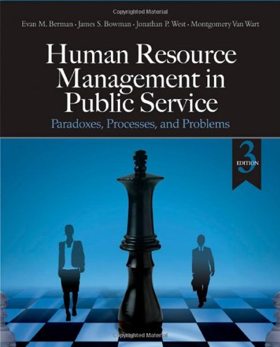 Human Resource Management in Public Service: Paradoxes,...