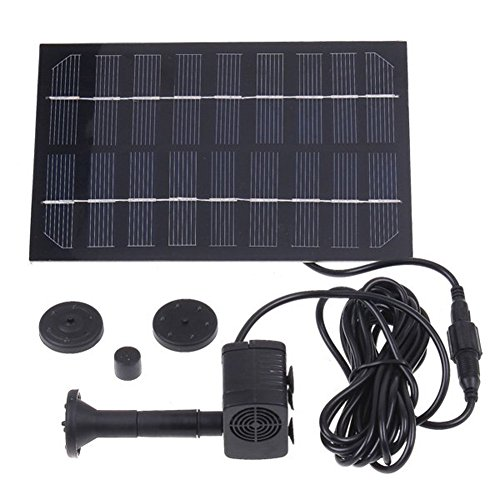 Amaranteen - Solar Brushless Pump For Water Cycle/Pond Fountain