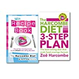 Zoe Harcombe The Harcombe Diet Collection 2 Books Set Lose 7lbs in 5 Days With Recipes Cookbook, (The Harcombe Diet 3-step Plan: Lose 7lbs in 5 Days and End Food Cravings Forever and The Harcombe Diet: The Recipe Book)