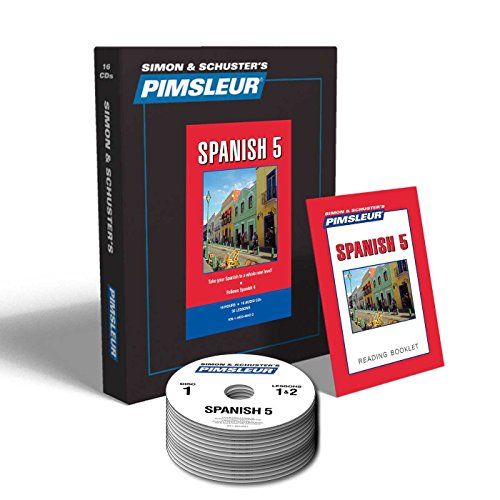 Pimsleur Spanish Level 4+5 (32CD) Gold Approach Method Audio Course